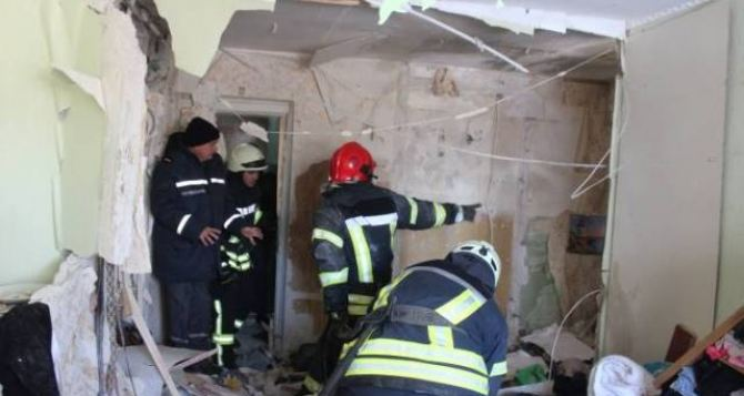 В Рубежном произошел взрыв в девятиэтажном доме