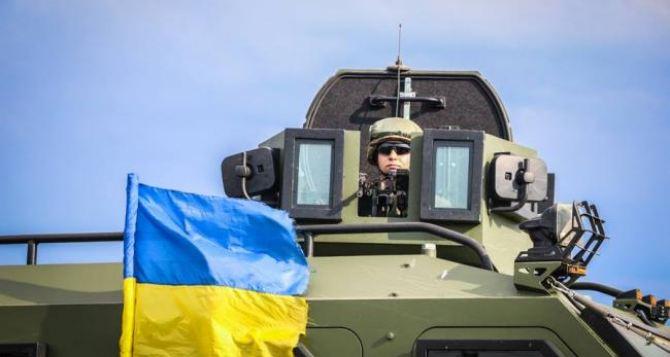 В Луганской области появились новые мобильные блокпосты из бронированных автомобилей