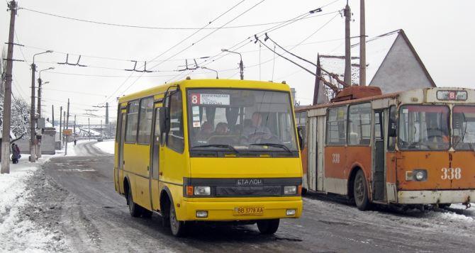 Луганчане могут выбрать лучшего водителя общественного транспорта