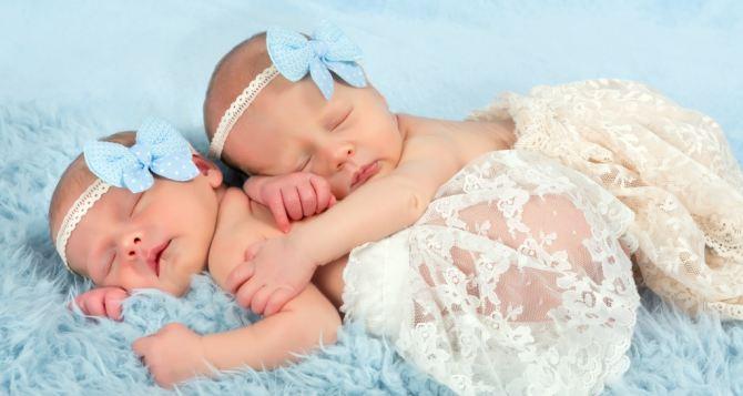 Первая в этом году двойня родилась в Луганске на прошлой неделе