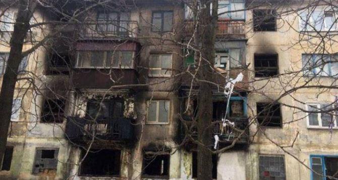 Взрыв в жилом доме в Донбассе: серьезные разрушения, трое пострадавших
