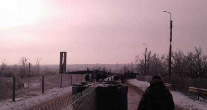 На КПВВ «Станица Луганская» новая смерть на нулевом блокпосту.