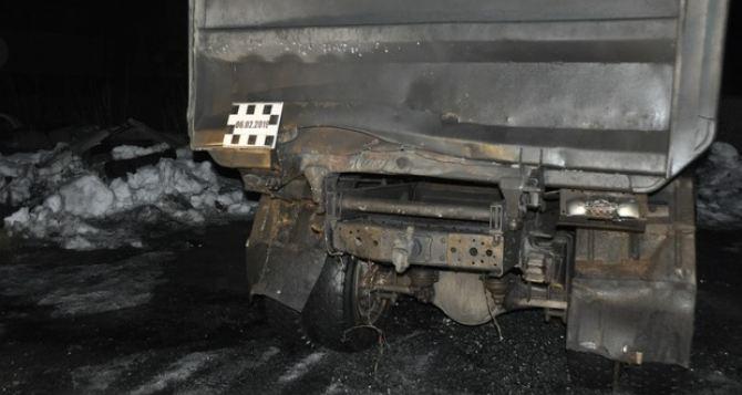 Из ракетного комплекса обстреляли грузовик с углем от Красного Креста. ФОТО