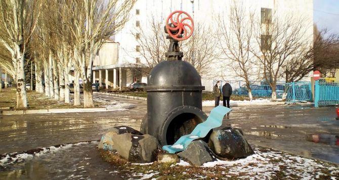 В Луганске сократили подачу воды из-за порыва Петровского магистрального водовода