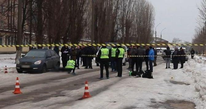 В Харькове неизвестный перерезал горло таксисту. Видео и фото с места преступления