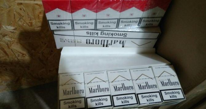Луганск на страже границ Евросоюза. Изъяты сигареты «Мальборо», которые контрабандой двигались в ЕС, на сумму более 6 млн руб. ФОТО