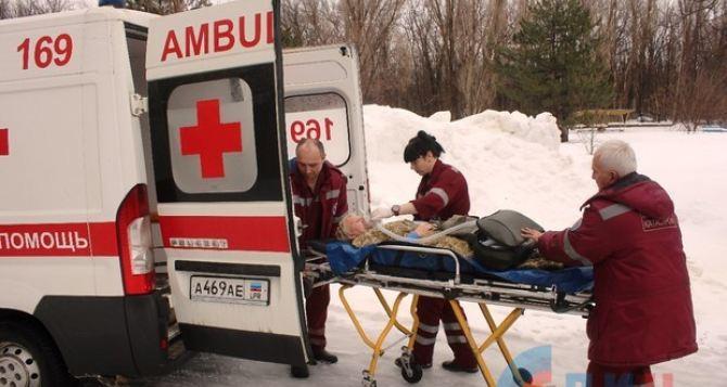 В Луганске взрыв на улице Полюсной. Мужчина с тяжелейшими ранениями в реанимации