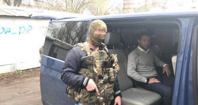 СБУ провела массовые аресты бизнесменов за торговлю с Луганском. ФОТО