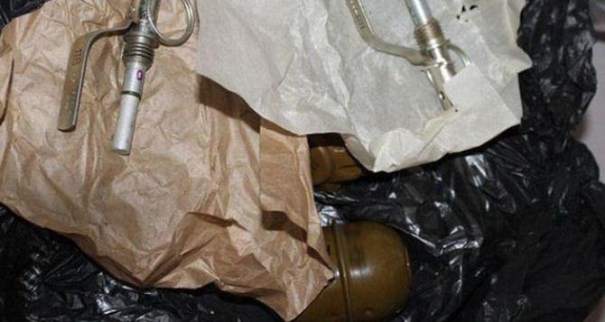 У села Дьяково нашли два мешка боеприпасов, в том числе ручные гранаты Дьяконова