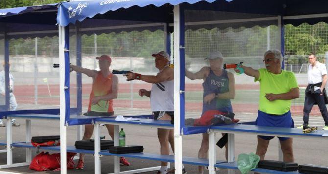 Луганчанин победил в турнире ветеранов спорта в Ростове