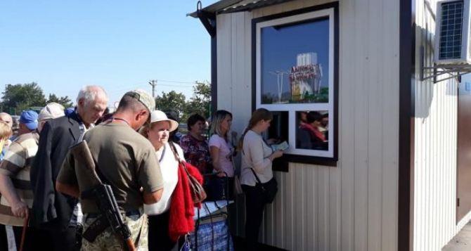 55% луганчан тратят на пересечение КПВВ «Станица Луганская» до 3 часов