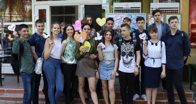 Фестиваль молодежного творчества прошел библиотеке Луганска