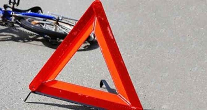 В Луганске Mercedes-Benz насмерть сбил велосипедиста