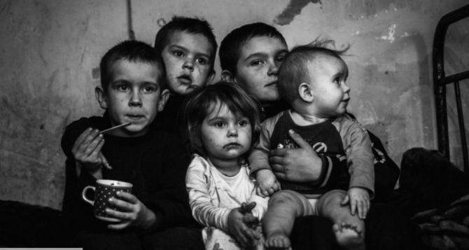 Более 9,5 тыс детей получили статус пострадавших от военных действий в Луганской области