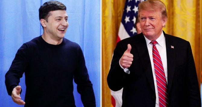 Президент США Трамп выступает за скорейшее завершение конфликта на Донбассе