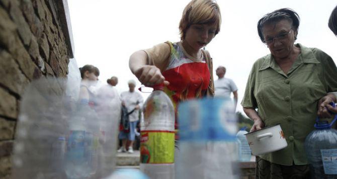 В серой зоне у линии фронта обострилась ситуация с питьевой водой