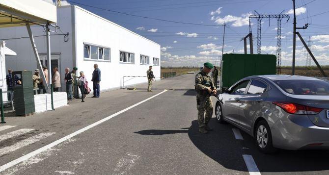 Ситуация на контрольно-пропускных пунктах въезда-выезда 14.06.2019