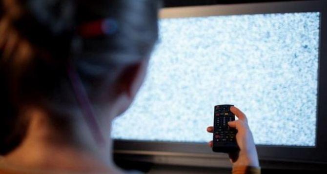 На следующей неделе в Луганске будет проблематично посмотреть телевизор