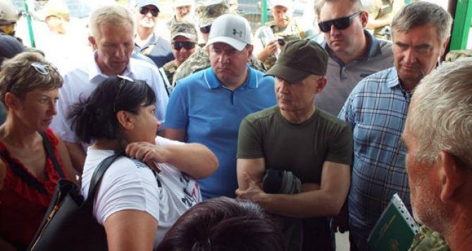 На КПВВ «Станица Луганская» будут снесены все военные укрепления с двух сторон