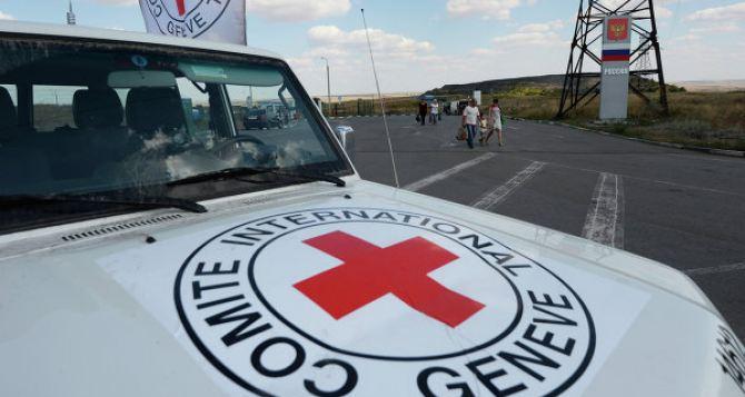 Выдача гумпомощи от МККК будет осуществляться с 8июля