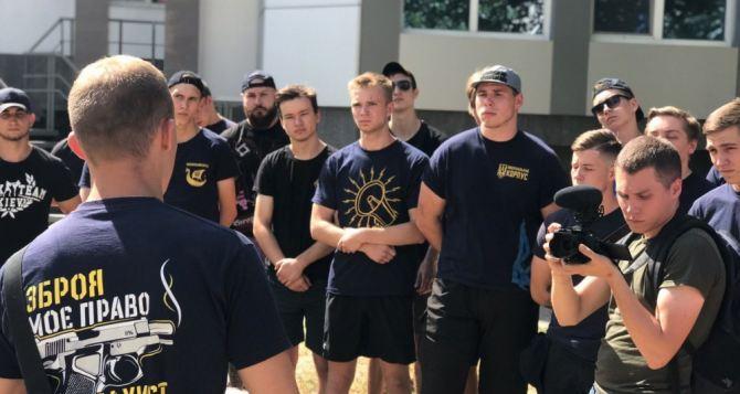 Луганская полиция предупредила местный «Национальный корпус» как себя вести в день выборов