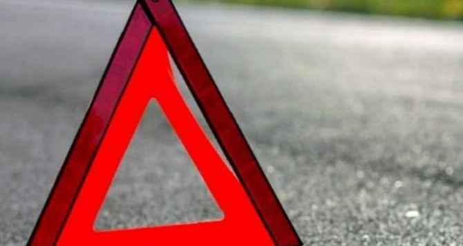 Легковое авто повредило газопровод в Успеновке