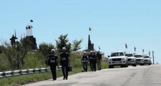Новая информация из отчета СММ ОБСЕ о ситуации возле Станицы Луганской