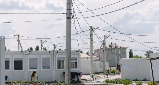 Переселенцев просят освободить модульный городок в Харькове до конца лета