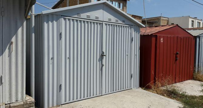 Способы перевозки металлического гаража