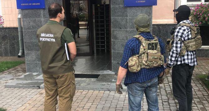 СБУ проводит обыски в Кабмине, Госпогранслужбе, Государственной фискальной службе и Спецтехноэкспорте