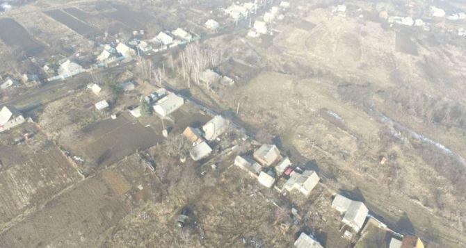 Под Горловкой взрыв в буферной зоне: На мине подорвалась женщина