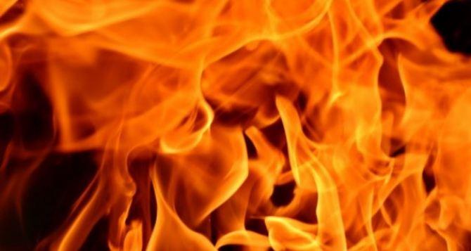 Под Сватово в результате пожара погиб мужчина
