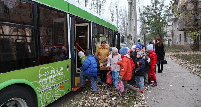 Северодонецкие школьники смогут бесплатно ездить на троллейбусах