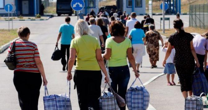 Количество внутренне перемещённых лиц в Украине достигло почти 1,4 млн