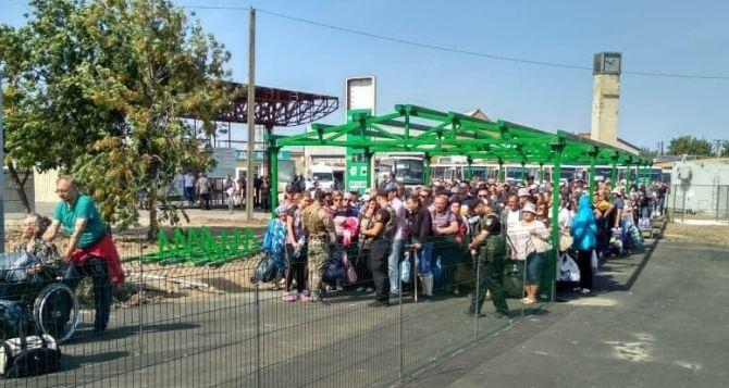 КПВВ «Станица Луганская» временно меняет график работы