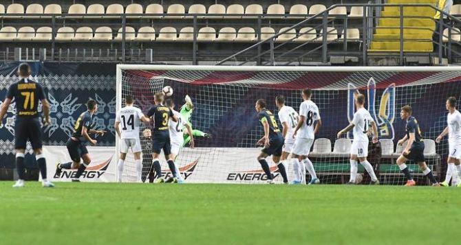 «Заря» и «Днепр-1» разошлись миром, забив по голу