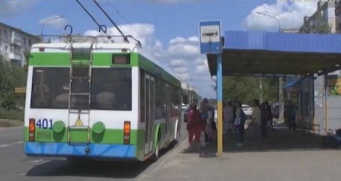 Школьники будут ездить в троллейбусах бесплатно с 1сентября в Северодонецке