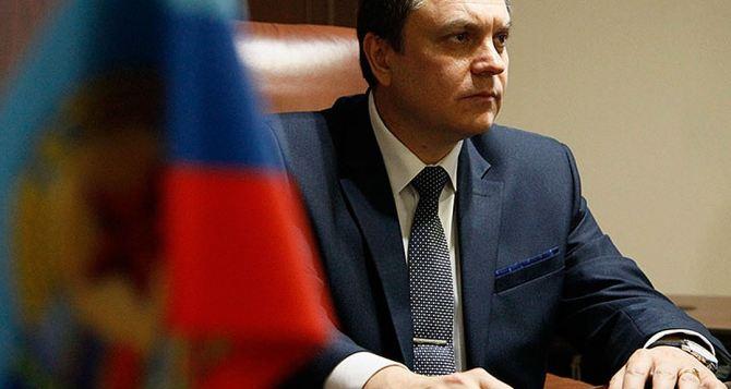 Глава ЛНР заявил, что готов прямо сейчас отвести всё вооружение от линии соприкосновения