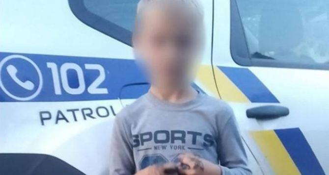 В Лисичанске 7-летний мальчик обиделся на папу и ушел из дома