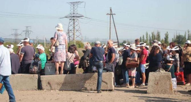 КПВВ Донбасса: Ситуация на блокпостах в субботу 10августа