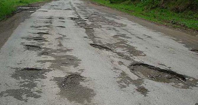Стало известно почему нет дорог в Луганской области