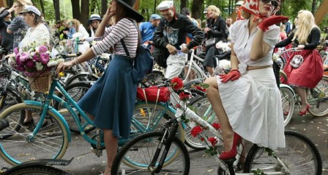 Шоу «Леди на велосипеде» пройдет в Луганске