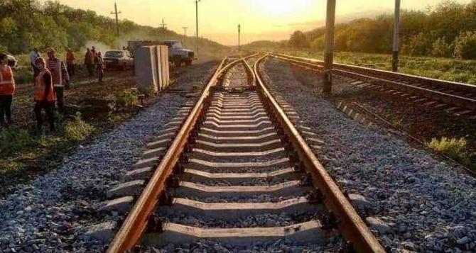 Построить железнодорожную ветку Северодонецк— Бахмутовка предложили депутаты горсовета Северодонецка
