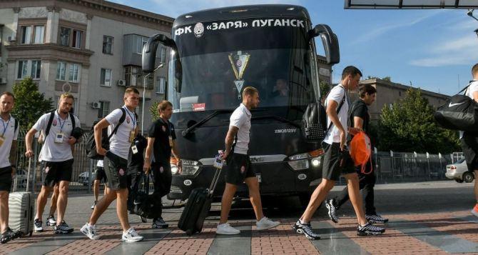 Луганская «Заря» чартерным рейсом улетела в Барселону. Список пассажиров