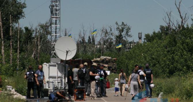 У моста в Станице Луганской установят видеонаблюдение