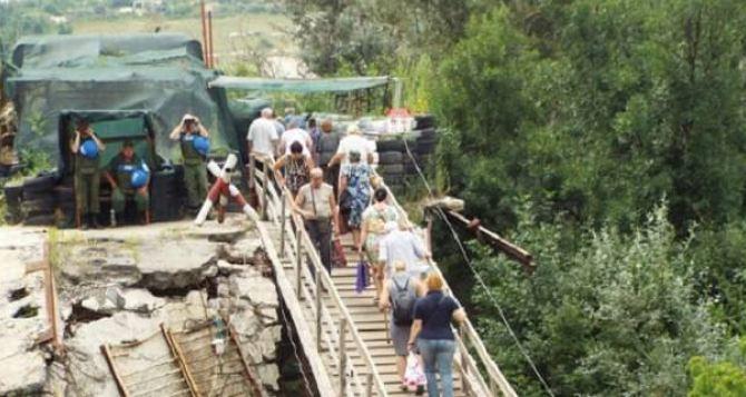 В Луганске хотят увидеть украинский проект реконструкции моста у Станицы Луганской