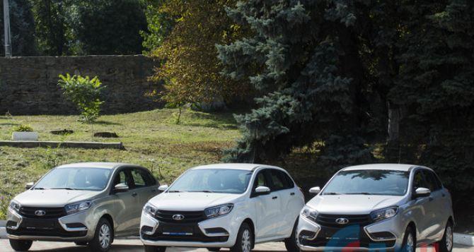 В Луганске шахтерам подарили автомобили