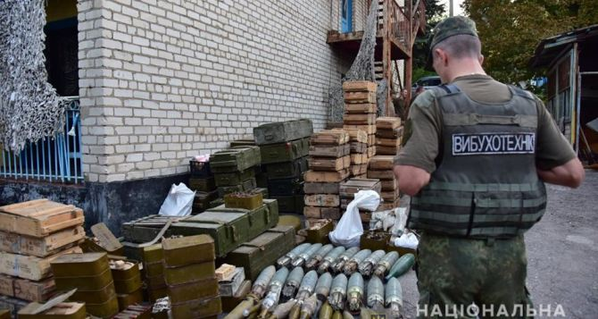 Полиция разоружила три добровольческих батальона на Донбассе. ФОТО