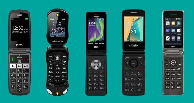 Почему телефоны-раскладушки все еще продаются: исследование рынка