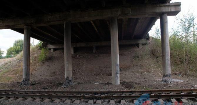 В МГБ объяснили почему  взорванный в Луганске путепровод устоял
